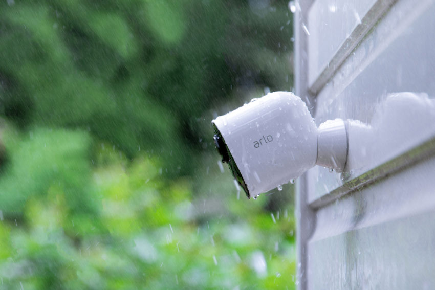 The Alro Ultra 4K wire free security camera.