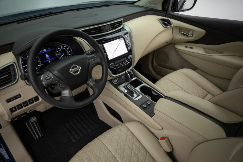 The interior is upgraded for 2019 with new leather seats, new trim and new interior finish options.