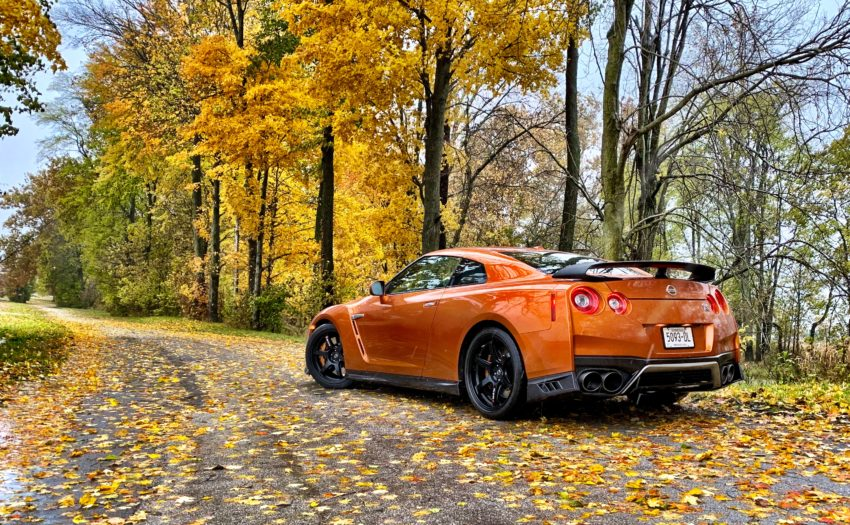 The Nissan GT-R is fast, fun to drive and the AWD system inspires confidence.