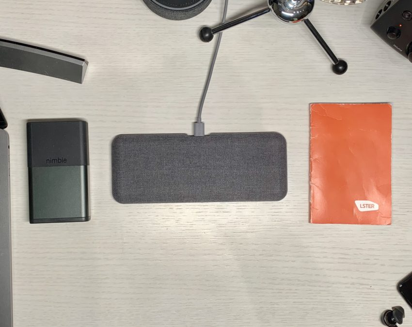 The Nimble Dual Wireless Pad is an amazing wireless charger that can handle two devices at once.