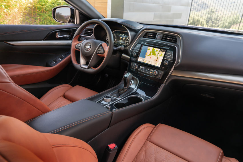 The updated n2019 Maxima interior.