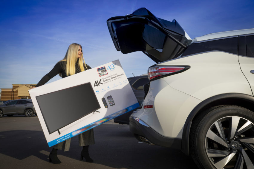 How big of a TV can I fit in my car, truck or SUV?