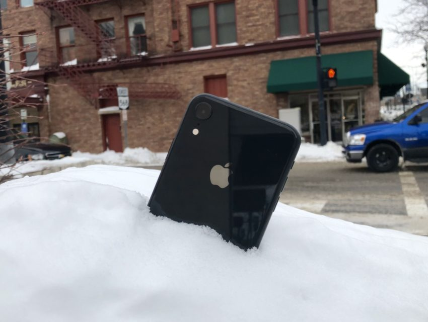 Can you use the iPhone in extreme cold?