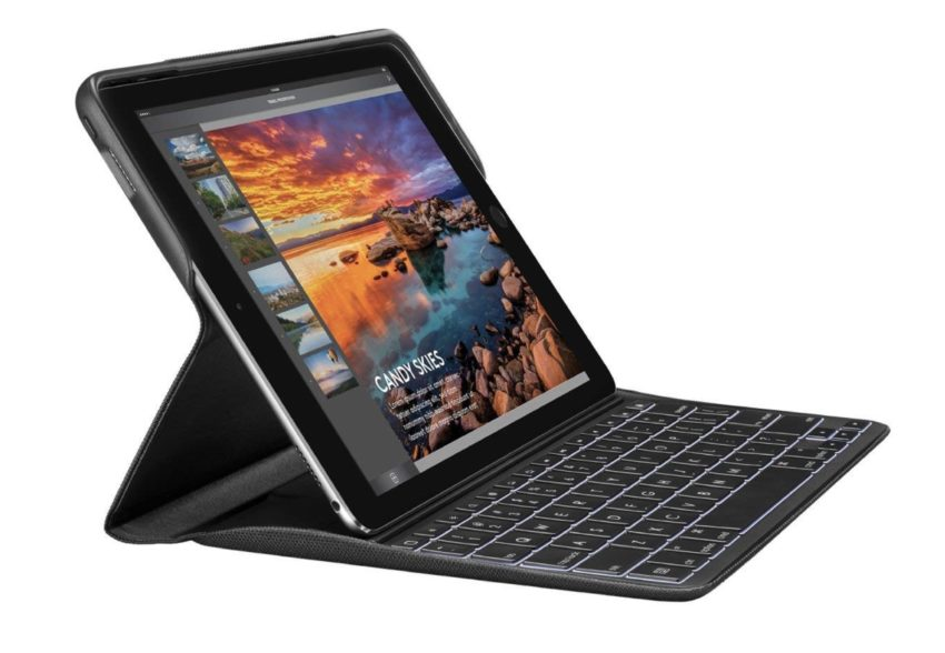 Logitech's iPad Pro 9.7-inch keyboard case uses the smart connector.