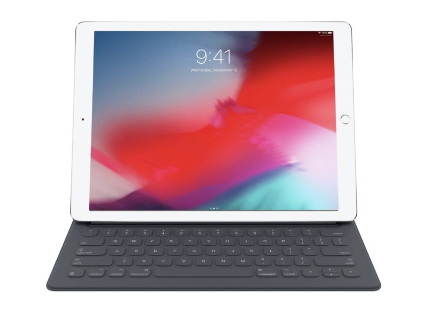 The official Apple option is a nice keyboard for the 1st and 2nd gen iPad Pro 12.9.