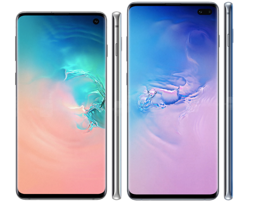 Galaxy S10+ vs Galaxy S9+: Display