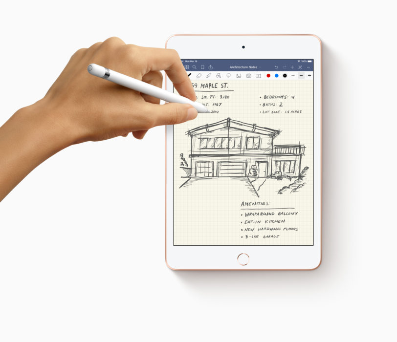 This is the iPad mini 5, and the most important new features.