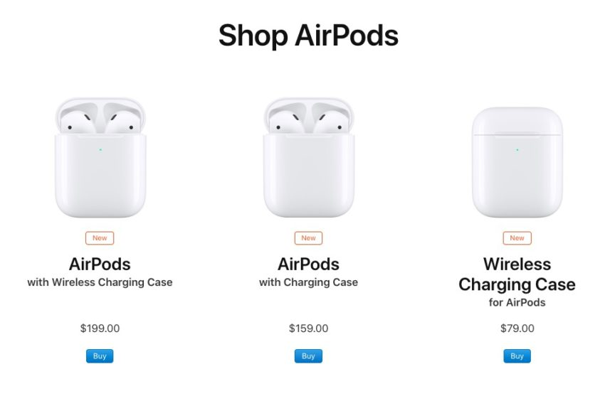 AirPods 2 are here with new features and an optional wireless charging case.