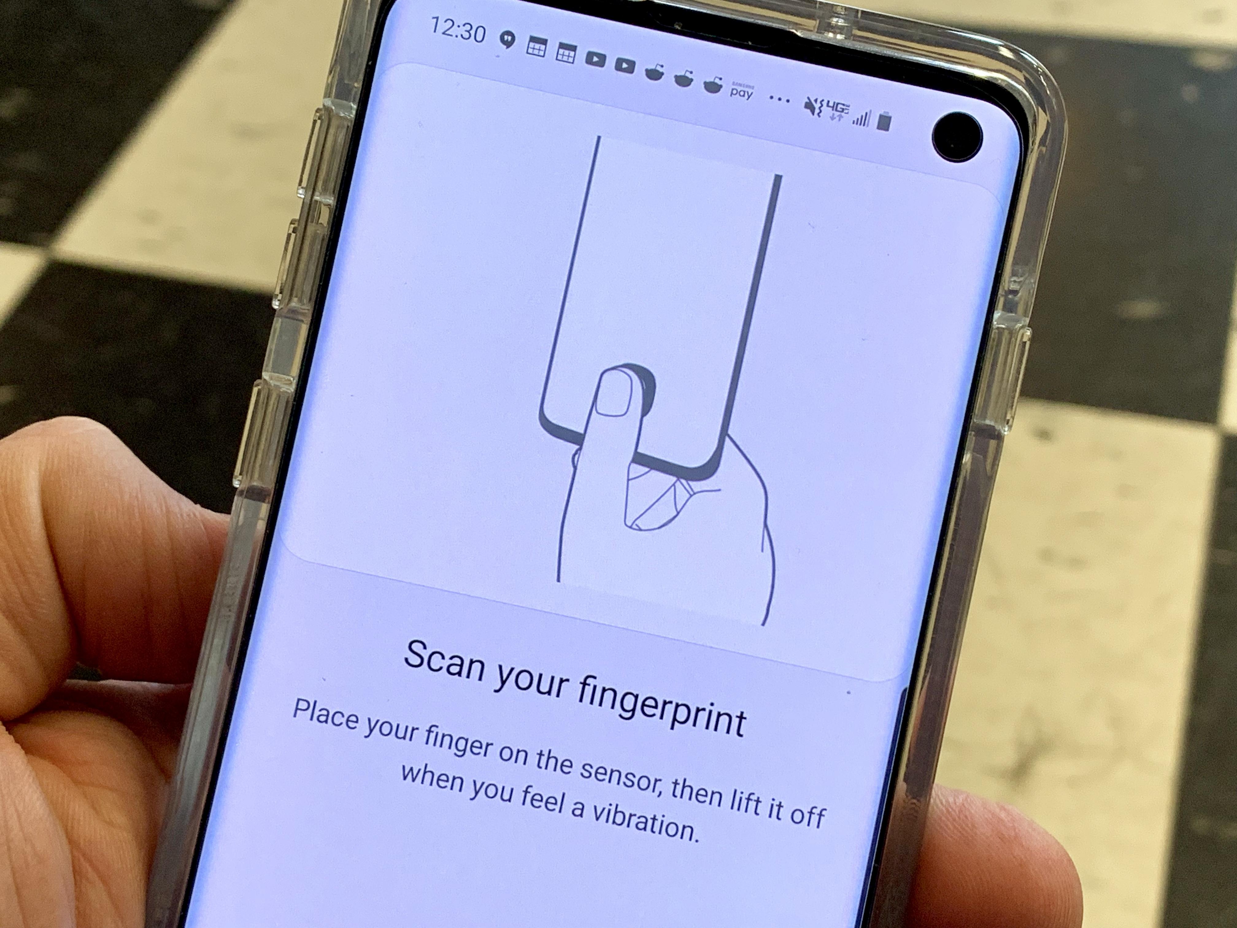 Train your fingerprints the right way.