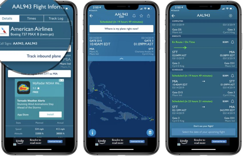 Is my flight on a Boeing 737 Max 8? This app can tell you.