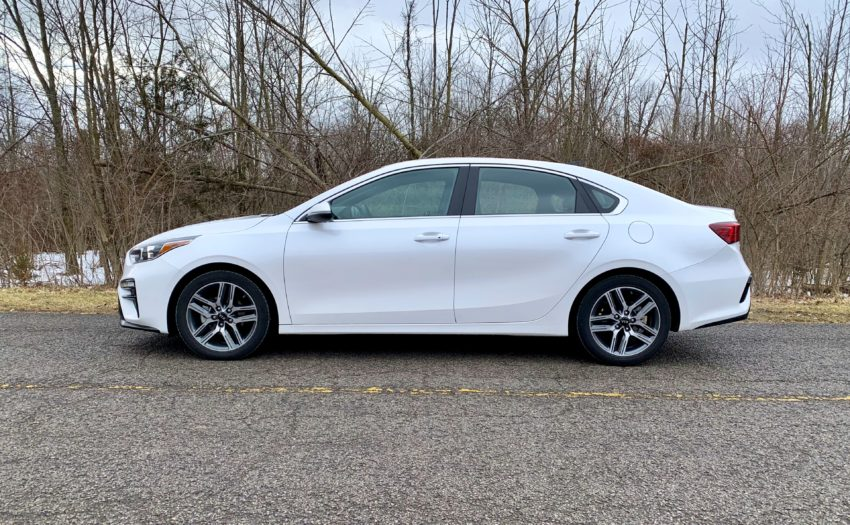 The Kia Forte is a great compact car.