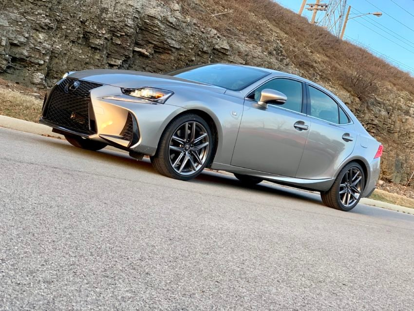 The 2019 Lexus IS 350 F Sport offers a comfortable drive, but it's ready to go when you find a twisty road.