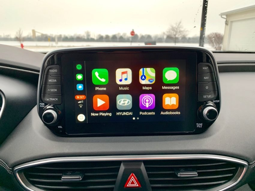 Android Auto and Apple CarPlay are standard.