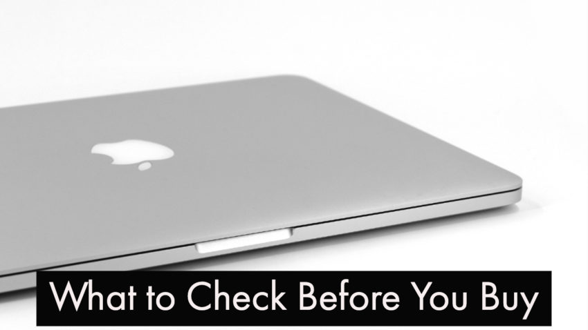 This is what you need to check before you buy a MacBook Pro on eBay.