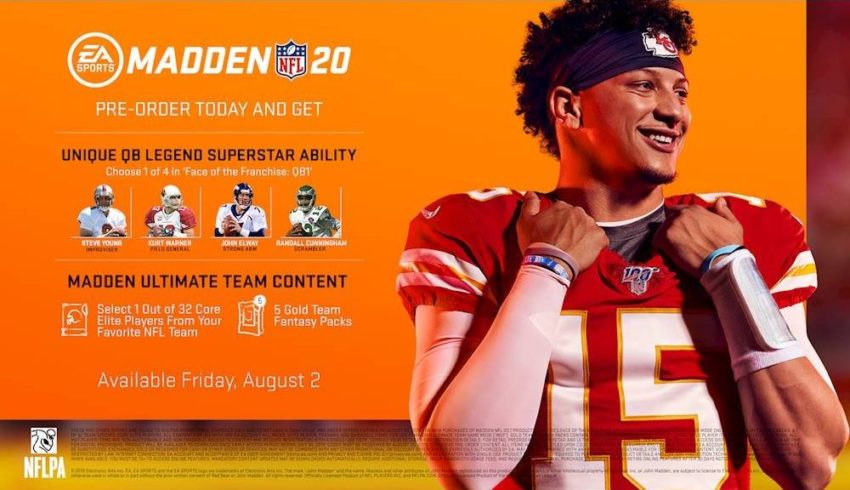 What you get with the standard Madden 20 edition.