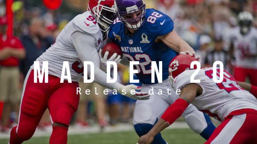 What you need to know about the Madden 20 release date.