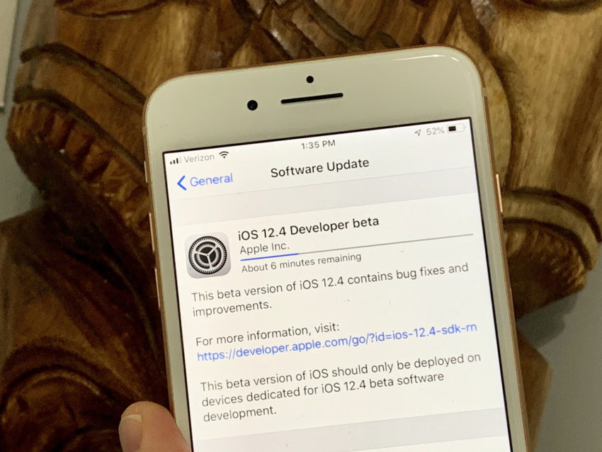 Don't Install iOS 12.4 Beta If You Can't Deal With Bugs