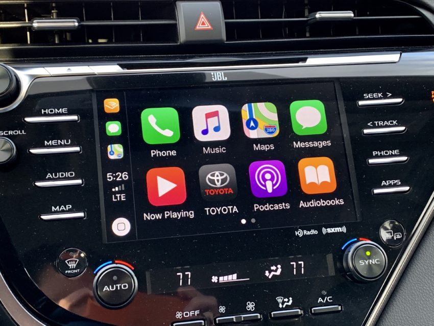 You get Apple CarPlay and Alexa, but no Android Auto.