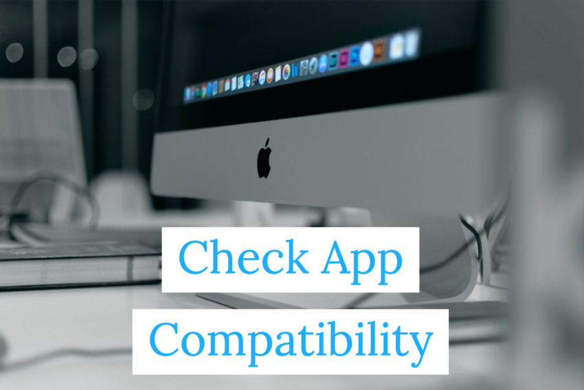 Check Apps Compatibility and Install Updates