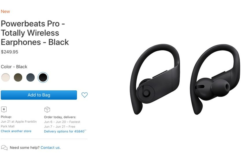 You can find PowerBeats Pro in stock at some stores.