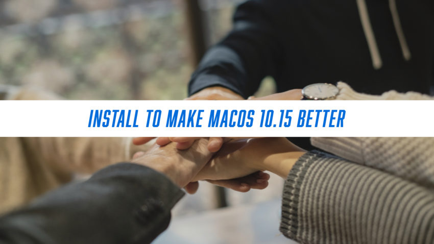 Install the Beta to help Improve macOS 10.15
