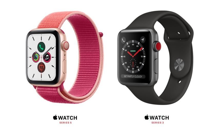 Pick your Apple Watch. $399 or $199 are the new starting prices.