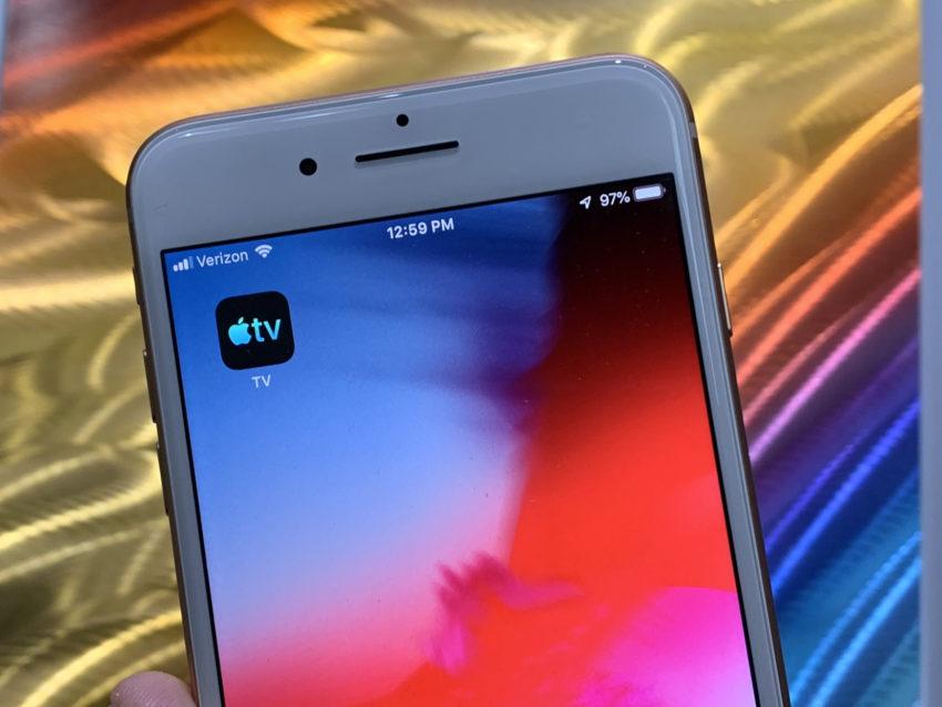 Install iOS 12.5.4 for TV App Upgrades