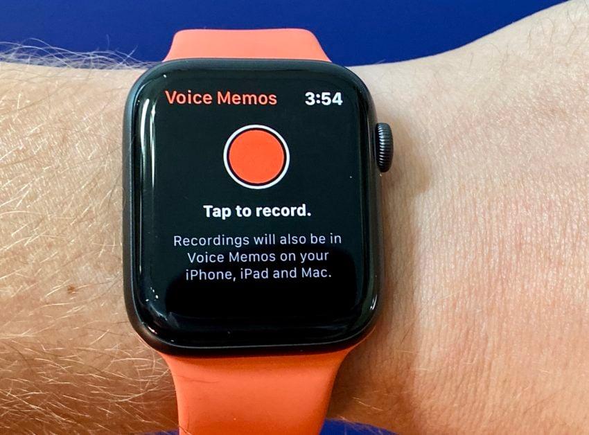 Record a Voice Memo