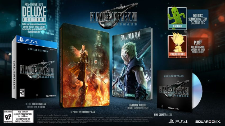 Pre-Order Final Fantasy 7 Remake for a Bonus
