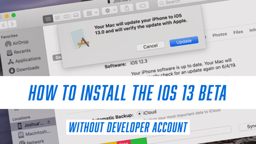 Learn how to install the IOS 13 beta on iPhone or iPad.