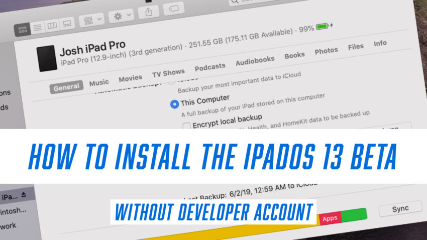 Learn how to install the iPadOS 13 beta now without a developer account.