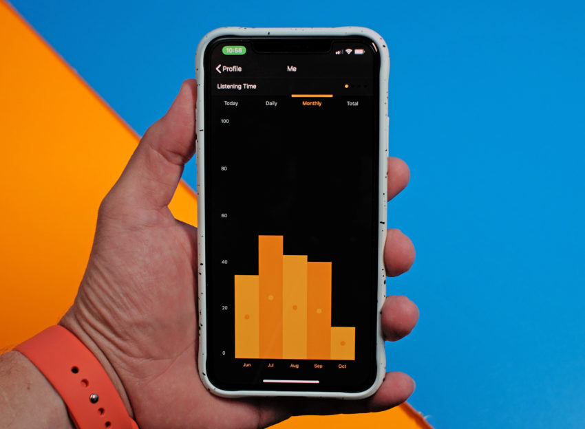 You can listen to Audible on almost any smart device.