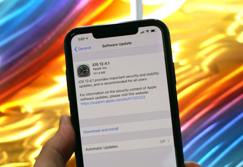 iOS 12.4.1 Features and Fixes