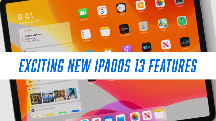 Check out the new iPadOS 13 features coming to your iPad this fall.