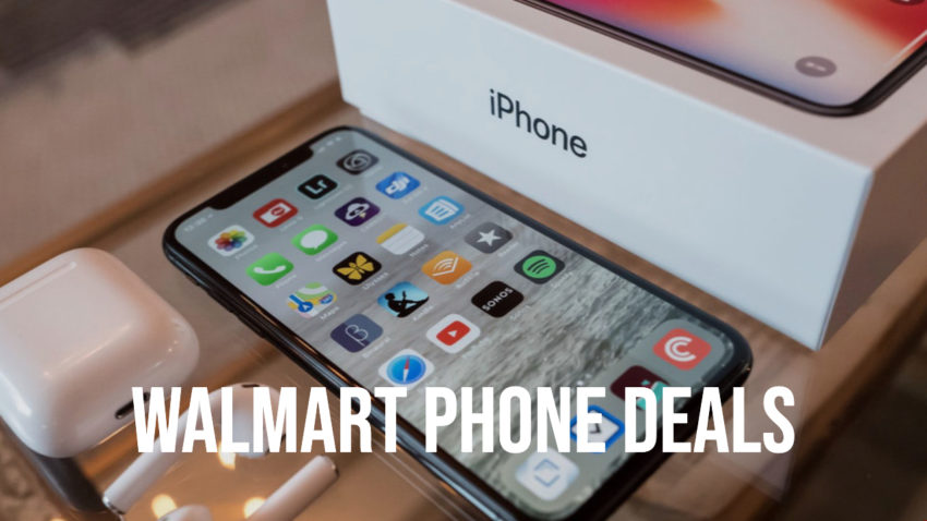 Save $200 on most iPhones and Samsung phones at Walmart.