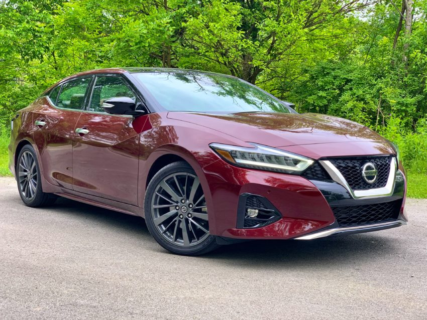 The Maxima is fun to drive, but still comfortable enough for daily driving.