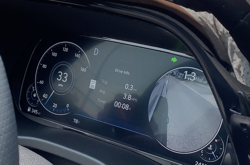 The 12.3-inch digital cluster is a nice feature on the Limited trim level.
