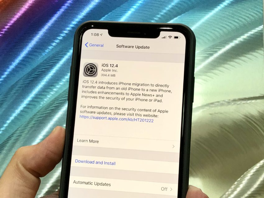 5 Things to Know About the iOS 12 4 Update