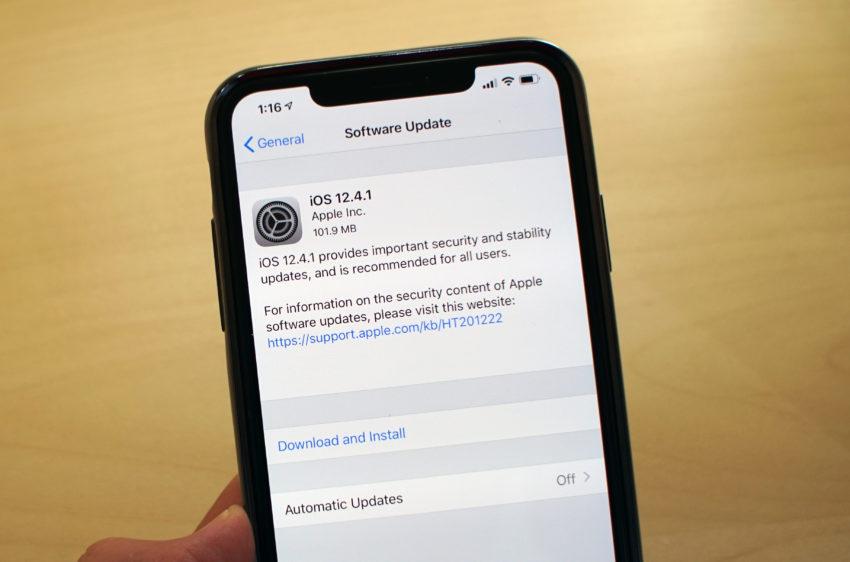 iPhone X iOS 12.4.1 Problems & Fixes