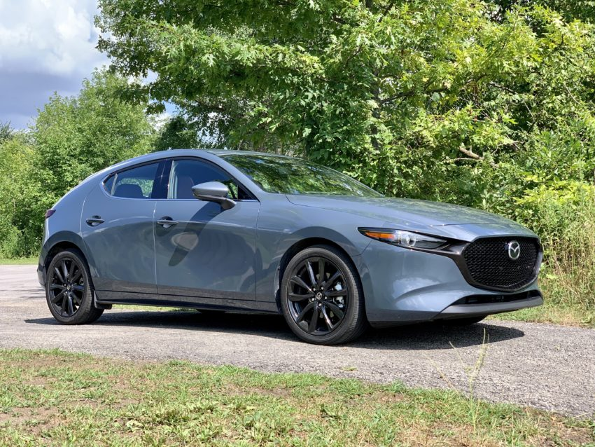The 2019 Mazda3 design is eye-catching.