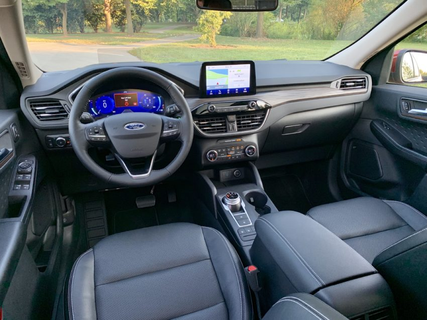 Ford's redesigned interior offers up loads of space.