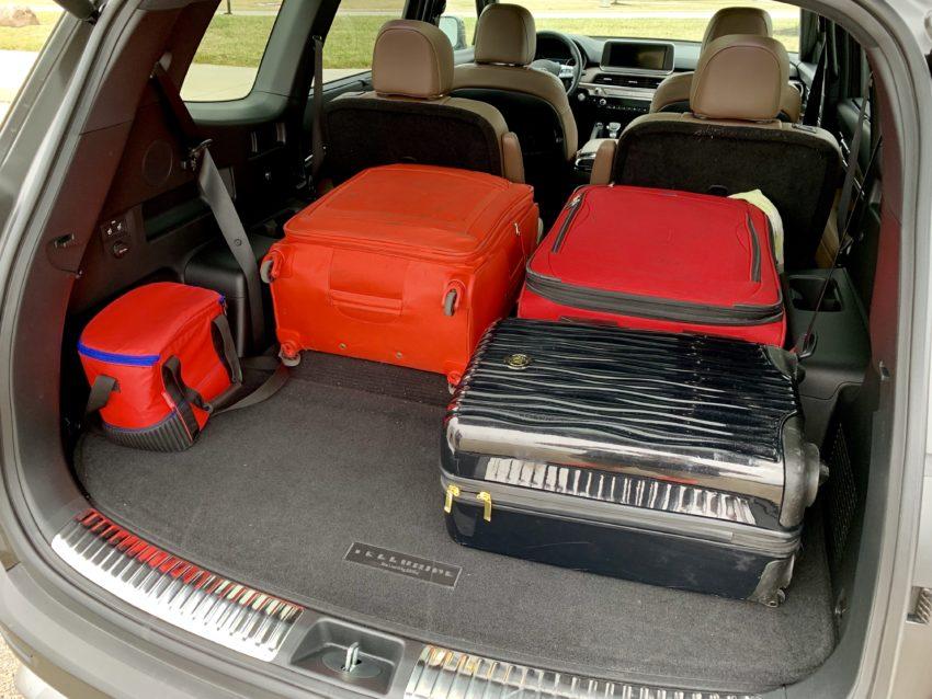 Enjoy plenty of cargo room.