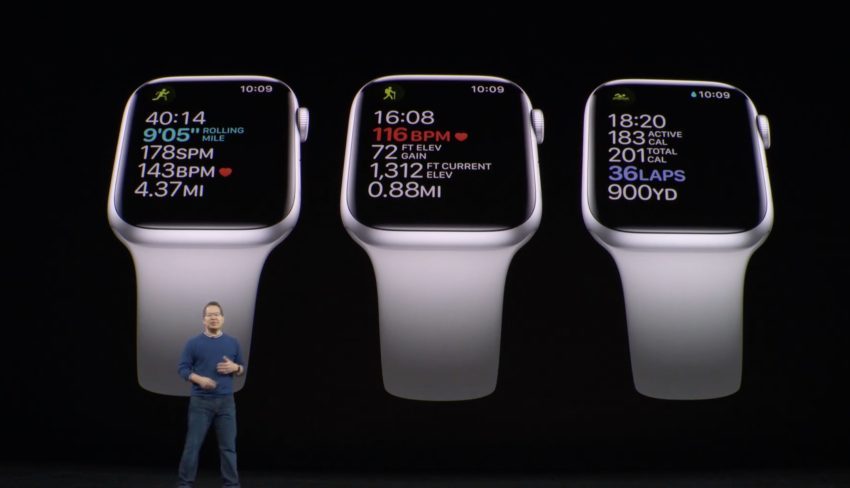 This is the new Apple Watch 5.