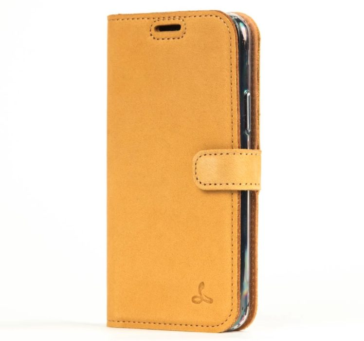 A great leather wallet case for the iPhone 11 Pro and Pro Max.