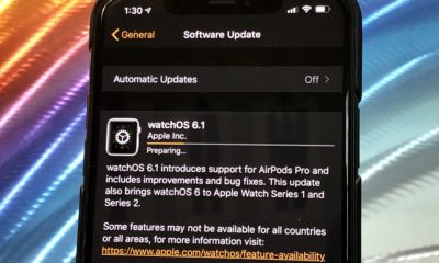 Here's how long the watchOS 6.1 update takes to download and install.