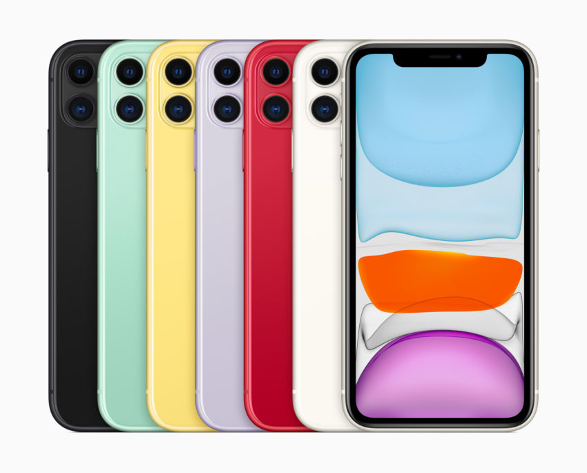Here are the iPhone 11 storage options.