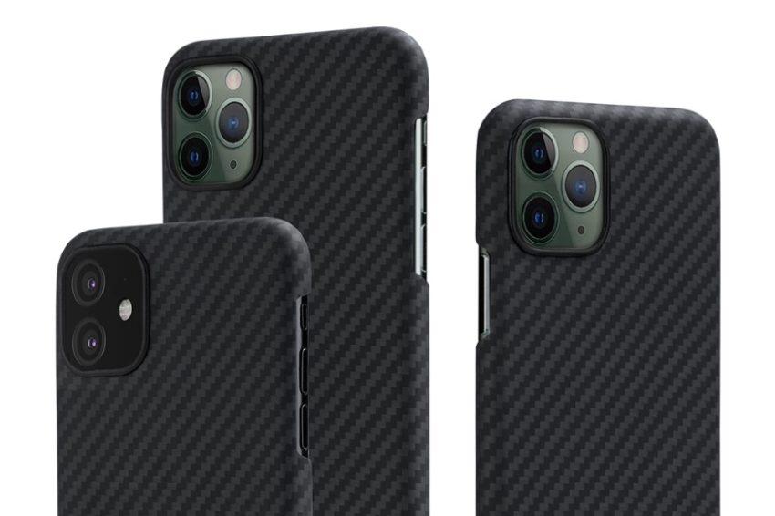 Pitaka slim iPhone 11 case.