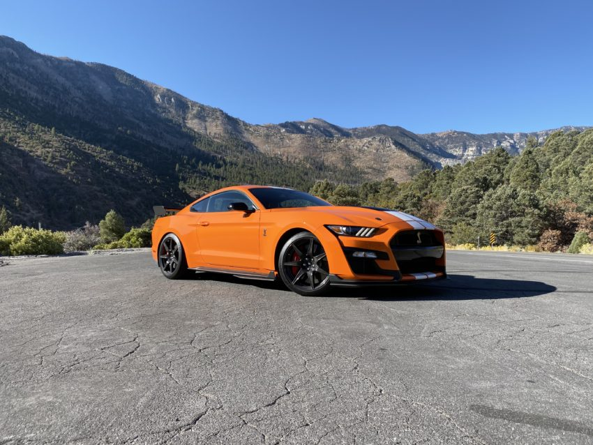 The 2020 Shelby GT500 is a blast on the track.