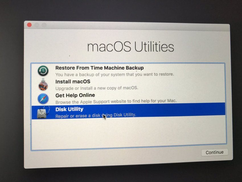 Erase your drive and then install macOS Catalina.