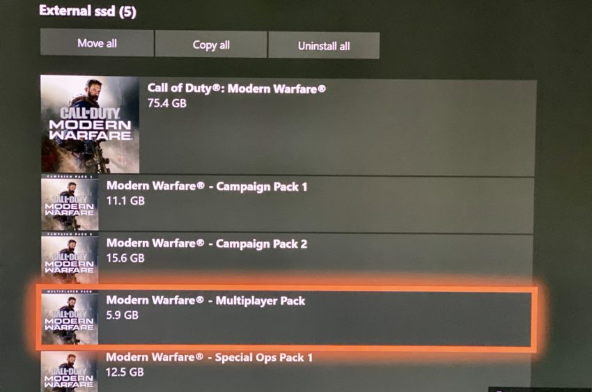 Try downloading the multiplayer pack second to start playing Modern Warfare faster.